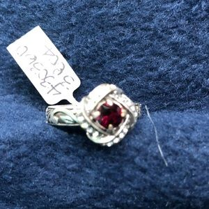 New Brighton Eternity Knot Ring in Red